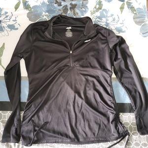 Avia Black Light Active Sweatshirt Sz L